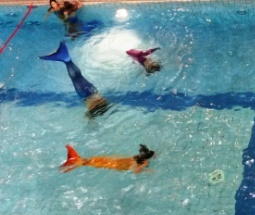 Meerjungfrauen-Kindergeburtstag